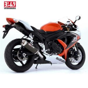 SUZUKI GSX_R 600 JG 08_10 Yoshimura Schalldämpfer Tri Oval Metal Magic