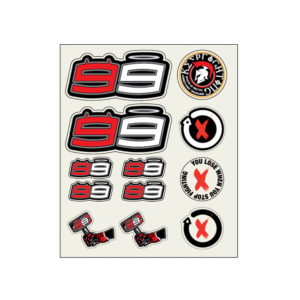 JORGE LORENZO STICKERSET GROSS