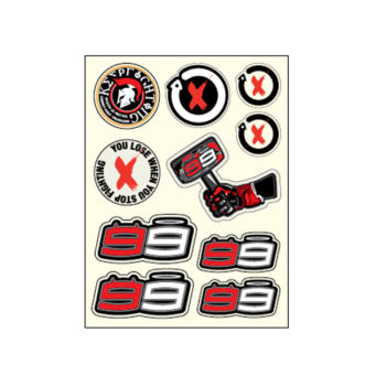 JORGE LORENZO STICKERSET KLEIN