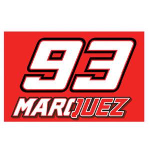 MARC MARQUEZ FLAGGE