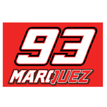 MARC MARQUEZ FLAGGE