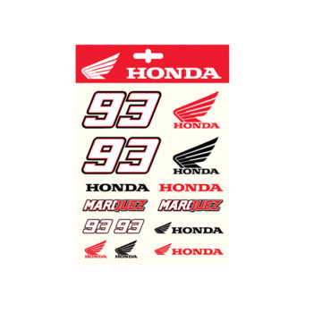 HONDA MARQUEZ STICKERS