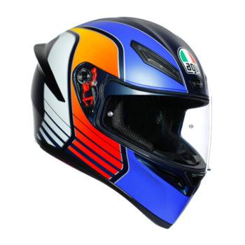 racepoint_AGV_Integralhelm_K-1_Power_blau matt-orange