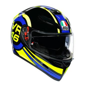 racepoint_AGV_Integralhelm_K-3 SV_Ride 46_schwarz-blau-gelb