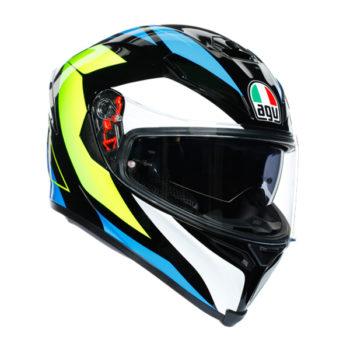 racepoint_AGV_Integralhelm_K-5 S_Core_matt-schwarz-blau-gelb