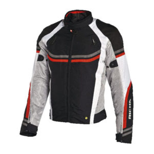 racepoint_Airstream Lady Richa Textil Damenjacke rot