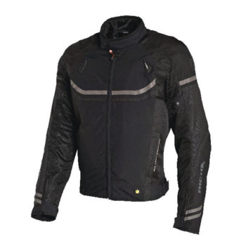 racepoint_Airstream Lady Richa Textil Damenjacke schwarz