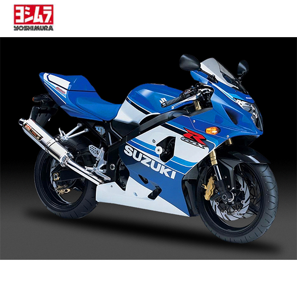 suzuki gsx r 750 jg 00 05 yoshimura auspuff homologiert. Black Bedroom Furniture Sets. Home Design Ideas