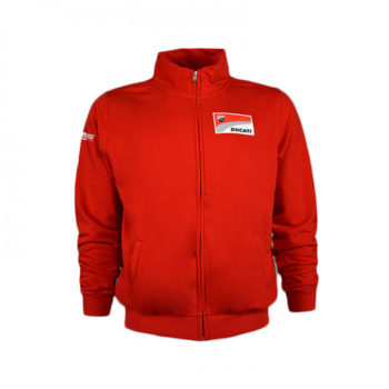 racepoint_DUCATI CORSE ZIPPED SWEAT v