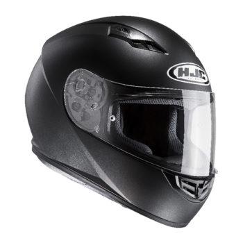 racepoint_HJC CS-15 Motorradhelm_SEMI FLAT BLACK