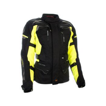 racepoint_Infinity 2_Richa_Textil_Damenjacke_Motorradjacke_gelb vorne