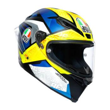 racepoint_Integralhelm_Corsa R_MIR 2019_weiss-blau-gelb