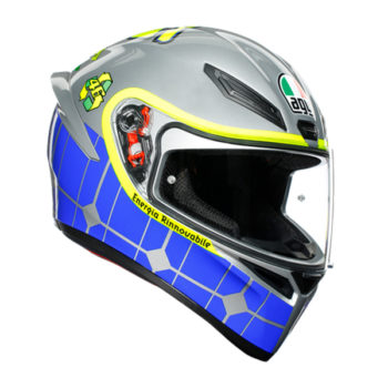 racepoint_Integralhelm_K-1_Rossi Mugello 2015_grau-blau-gelb