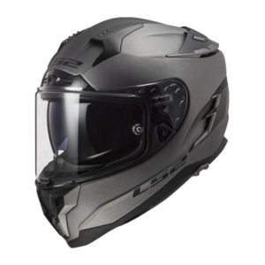 racepoint_LS2 FF327 Challenger matt titan_Motorradhelm