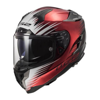 racepoint_LS2_Motorradhelm_FF327 Challenger Magic_weinrot schwarz