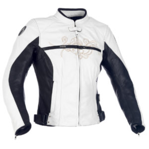 racepoint_Montannah Jacket Ladies Richa Leder Damenjacke weiss