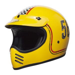 racepoint_Premier FL12 YELLOW_Integralhelm_Retrohelm