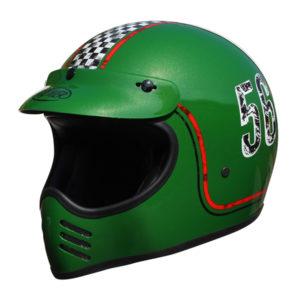 racepoint_Premier FL6 GREEN_Integralhelm_Retrohelm