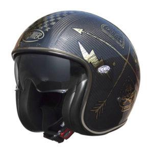 racepoint_Premier Vintage_Motorradhelme_carbon nx gold
