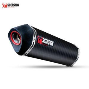 racepoint_SUZUKI GSX-R 1000 JG 09-13 Scorpion Schalldämpfer Serket Carbon