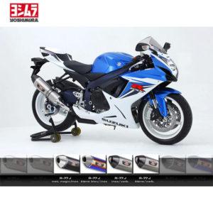 racepoint_SUZUKI GSX-R 600 JG 11-14 Schalldämpfer Yoshimura R77-J Titan Blau