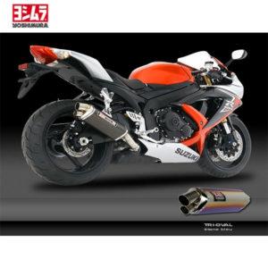 racepoint_SUZUKI GSX_R 600 JG 08_10 Schalldämpfer Yoshimura Titan Blau