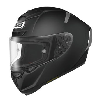 racepoint_Shoei X-Spirit III schwarz matt_Motorradhelm
