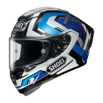 racepoint_Shoei X-Spirit III_Brink TC-2 weiss-blau-silber_Motorradhelm