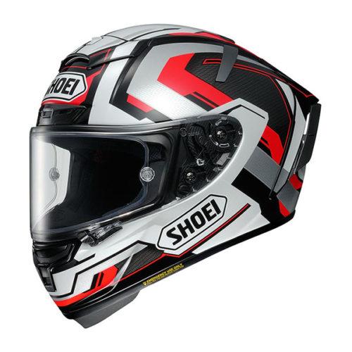 racepoint_Shoei X-Spirit III_Brink TC-5 weiss-rot-silber_Motorradhelm