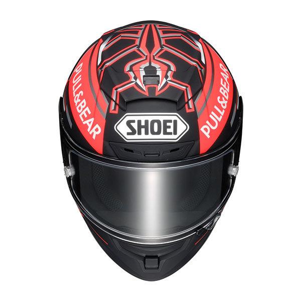 racepoint_Shoei X-Spirit III_M93 Black Concept TC-1 matt schwarz-rot_Motorradhelm