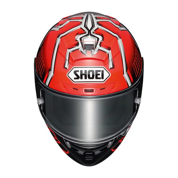 racepoint_Shoei X-Spirit III_Marc Marquez 4_schwarz-rot_Motorradhelm