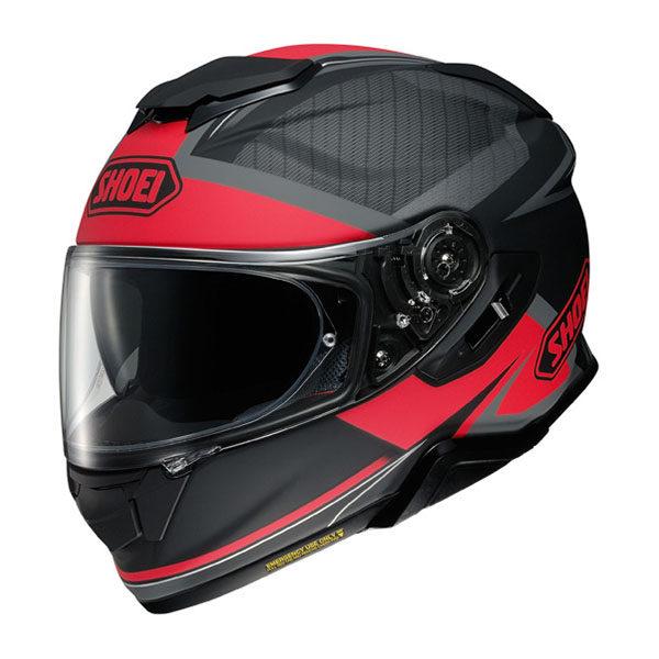 racepoint_Shoei_Motorradhelm_GT-Air II Affair TC-1_matt schwarz-rot
