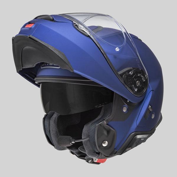 racepoint_Shoei_Motorradhelm_Klapphelm_Neotec II Uni matt blau