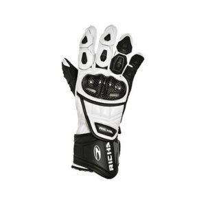 racepoint_Track Richa Racing Handschuh weiss 1