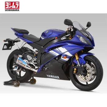 racepoint_Yoshimura Schalldämpfer R11 Edelstahl Carbon Endkappe Yamaha R6 jg 06-16
