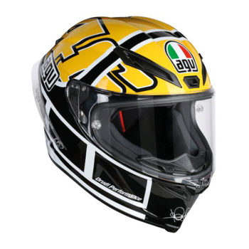 racepoint_agv motorradhelm corsa r top rossi goodwood