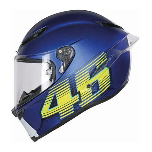 racepoint_agv motorradhelm corsa r top vr46 matt blau