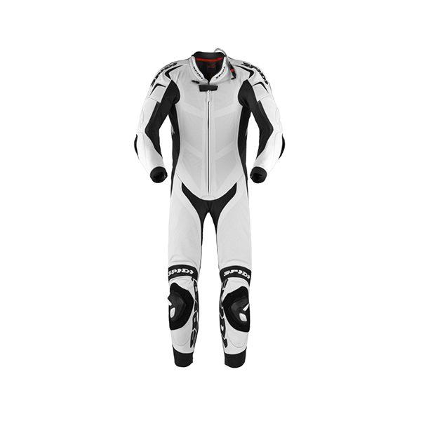 racepoint_replica piloti spidi lederkombi 1-Teilig white black