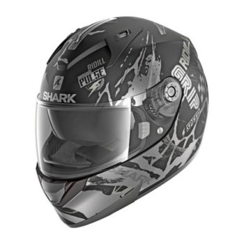 racepoint_ridill_drift-r_shark_integralhelm_black_antha_silver 1