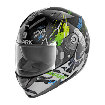 racepoint_ridill_drift-r_shark_integralhelm_black_green_blue 1