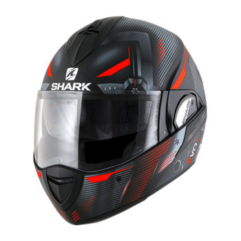 racepoint_shark motorradhelm evoline s3 shazer mat
