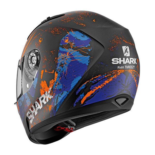 racepoint_shark motorradhelm ridill threezy mat