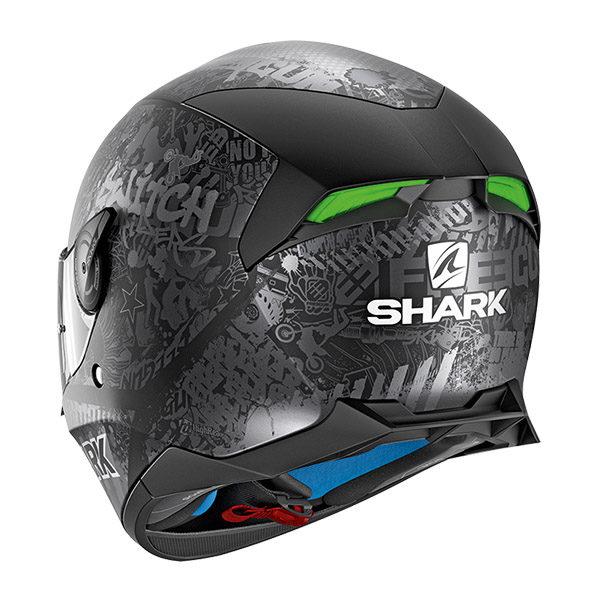 racepoint_shark motorradhelm skwal 2 switch riders 2 mat