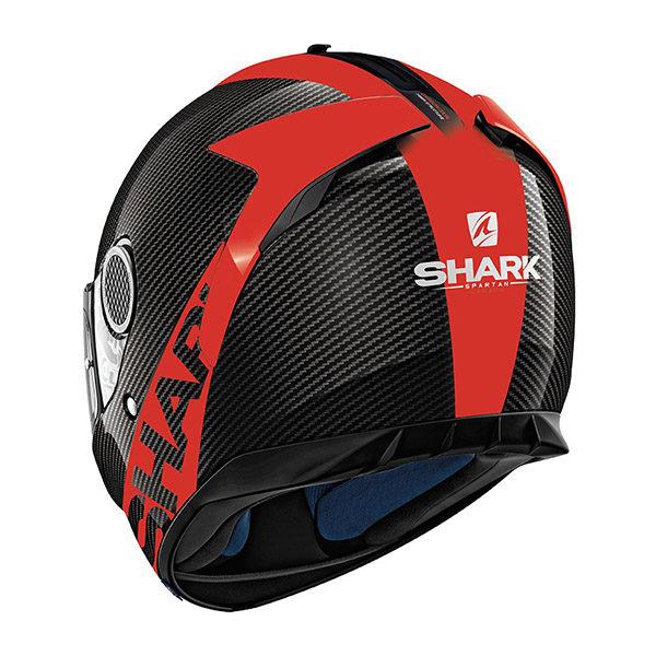 racepoint_shark motorradhelm spartan carbon skin carbon_rot