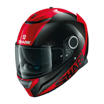 racepoint_shark motorradhelm spartan carbon skin carbon_rot