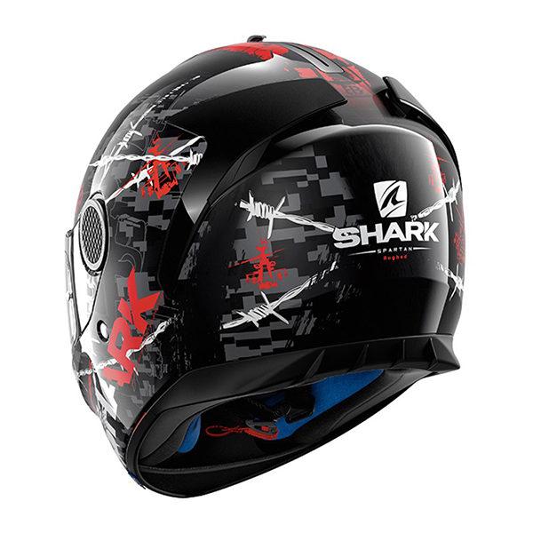 racepoint_shark motorradhelm spartan rughed