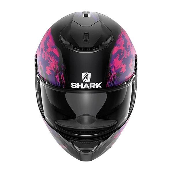 racepoint_shark motorradhelm spartan rughed mat