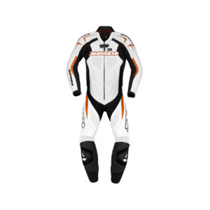 racepoint_supersport spidi lederkombi 1-Teilig black orange