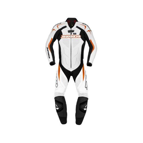 racepoint_supersport spidi lederkombi 1-Teilig black orange
