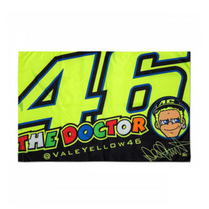 racepoint_valentino rossi flagge classic the doctor